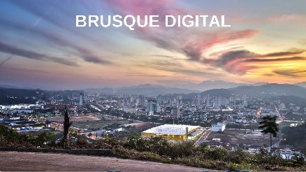 SALA DO PROJETO DE INFOVIA - BRUSQUE DIGITAL